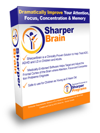 SharperBrain ADD and ADHD Software
